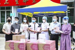 伊的家走进广州抗疫一线,守护白衣天使最美容颜